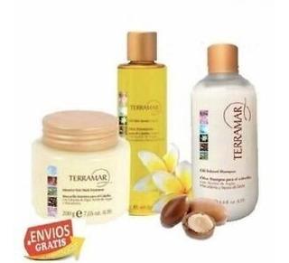 Set Terramar Oleo, Shampoo Y Mascarilla + Regalo Y Envió