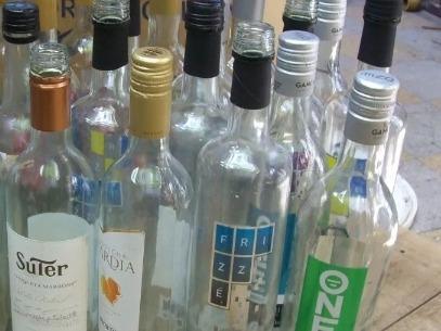 Botellas Con Tapa A Rosca Transparentes