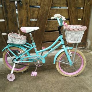 Bicicleta Rodado 16 Vintage Niñas Impecable!