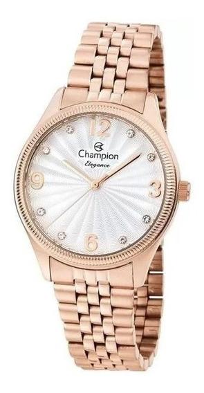 Relógio Champion Feminino Rosê Cn25789z