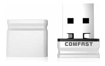 Placa De Red Usb Comfast Cf-wu810n 150mbps 2.4ghz Mini Nano