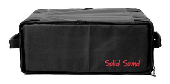 Case Rack 4 Espaços - Rack 4u Solid Sound