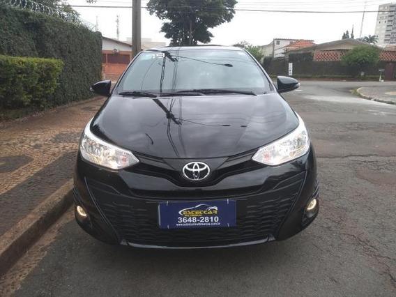 Toyota Yaris Hatch Xl 1.3 Flex 2019 Na Garantia De Fabrica