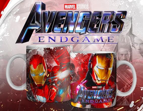 Plantillas Para Tazas Avenger Endgame, Sublimación Vengadore