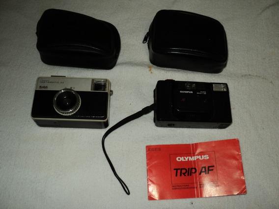 Lote Com 02 Câmeras Anlógicas Com Defeito