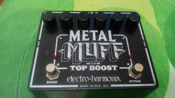 Metal Muff With Top Boost Pedal Distortion Guitarra Electric