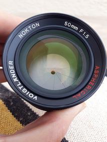 Voigtlander Nokton 50mm 1.5 Ltm Para Mount Leica M