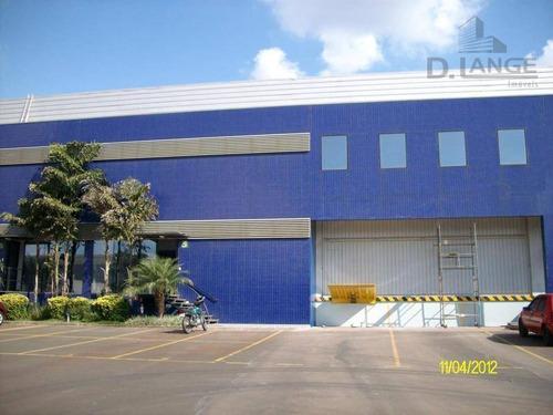 Imagem 1 de 8 de Galpão Para Alugar, 1168 M² Por R$ 27.804/mês - Techno Park - Campinas/sp - Ga0346