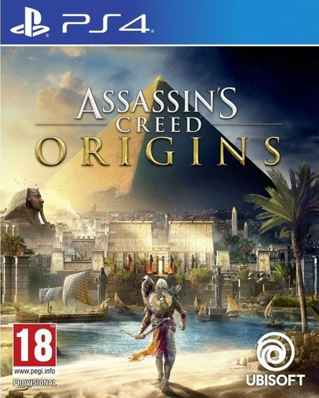 Jogo Assassins Creed Origins Ps4 Português Mídia Física Game