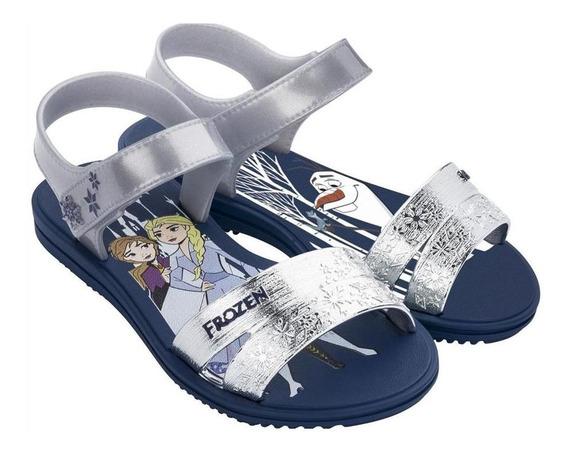 Ojota Grendene Frozen Snowflake Sandal 22114/21345azypl