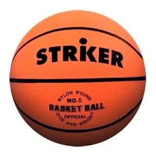 Pelota Basket Basquet N°7 Striker Basket Adulto Pelota Goma