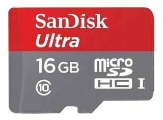 Cartão de memória SanDisk SDSQUNB-016G-GN3MN Ultra 16GB