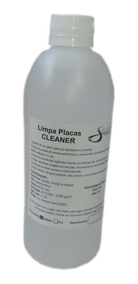 Alcool Isopropilico 500ml Cleaner Veja Frete No Link 1pc