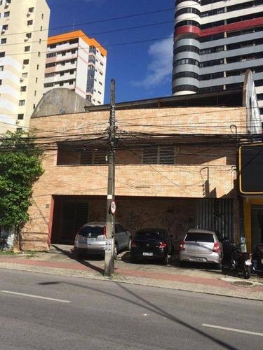 Prédio À Venda, 610 M² Por R$ 2.450.000,00 - Cocó - Fortaleza/ce - Pr0002