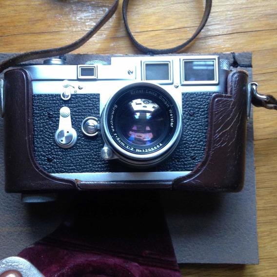 Leica M3 + Summicron 50mm + Parasol + Fotômetro