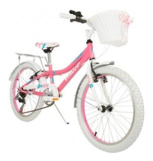 Bicicleta Philco Patio Niña Rod.20 6 Velocidades