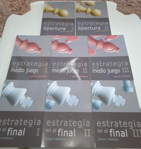 Livros De Xadrez - Estrategia - 8 Volumes - Johan Hellsten