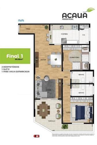 Imagem 1 de 9 de Apartamento - Venda - Campo Da Aviação - Praia Grande - Ter55