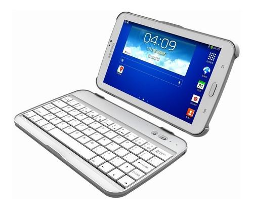 Teclado Bluetooth Aluminio Galaxy Tab 3 Sm-t210 T211 Y P3210