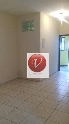 Casa Com 1 Dormitório Para Alugar, 70 M² Por R$ 900/mês - Vila Tibiriçá - Santo André/sp - Ca2873