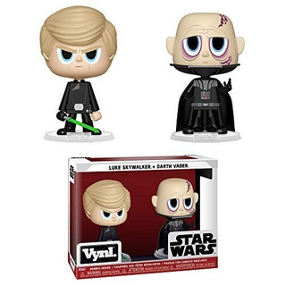 Funko Pop Vynl- Star Wars - Darth Vader & Luke Skywalker