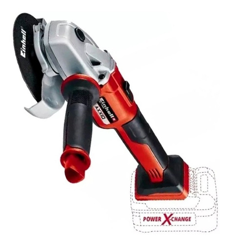 Amoladora Inalámbrica Axxio Brushless 125mm  18v Einhell