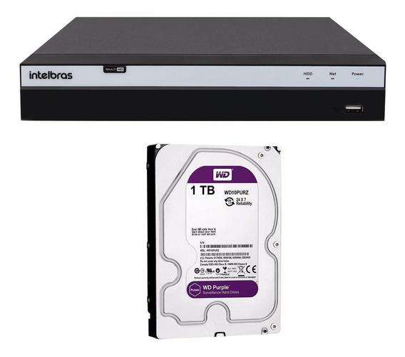 Dvr Gravador Segurança Intelbras 4k Mhdx 5108 Ultra Hd Tf