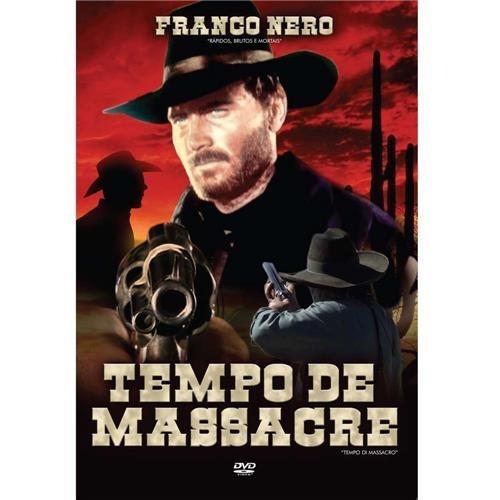 Dvd Tempo De Massacre - Usado