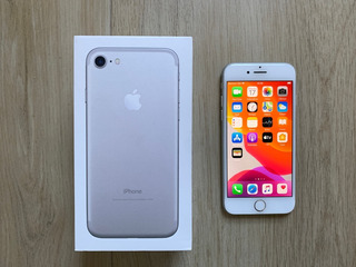 iPhone 7 128gb Silver - Completo - Na Caixa