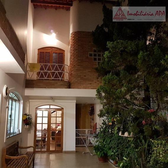 Sobrado Com 3 Dormitórios À Venda, 254 M² Por R$ 2.130.000 - Santa Cecília - São Paulo/sp - So0028