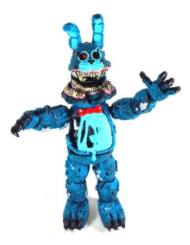 Five Nights At Freddys Figura Nightmare Bonnie Azul Twisted