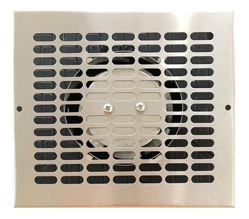 Extractor De Aire Para Baño De Acero Inox De 4''