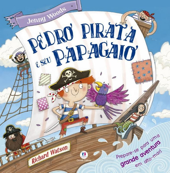 Pedro Pirata E Seu Papagaio