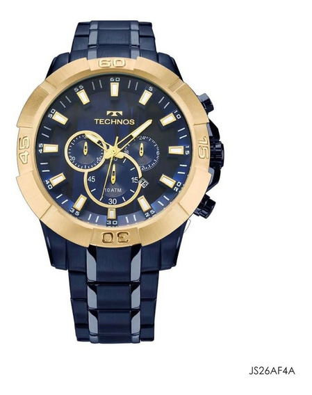 Relógio Masculino Technos Azul Js26af/4a