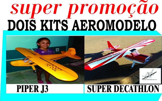 Promoções Dois Kit Aeromodelo Piper X Decathlon