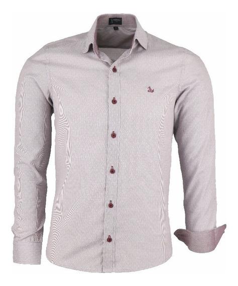 Camisa Amil Unique Slim M. Longa Não Amassa Coleçao 2019
