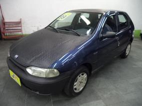Fiat Palio 1.0 Edx 5p Gasolina Azul 1999 Com Direçao