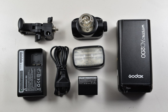 Godox Ad200 Ttl Kit De Flash De Bolso