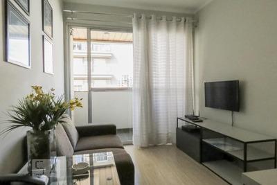 Studio No 9º Andar Mobiliado Com 1 Dormitório E 1 Garagem - Id: 892796397 - 96397