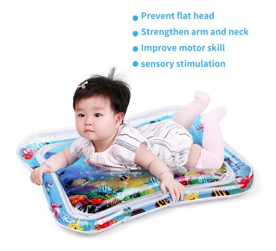 Colchoneta Inflable De Juegos Con Agua Para Bebés/niños