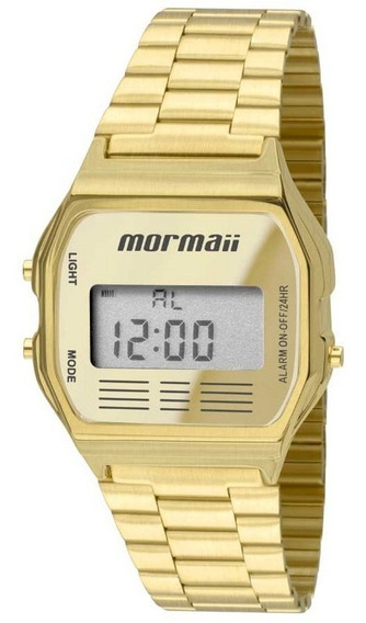 Relógio Mormaii Vintage Unissex Dourado Mojh02ab/4d