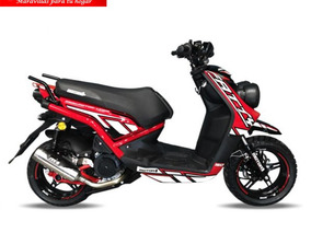 Moto Motor 1 Fatty 175 Año 2018 175cc Ro/am/az