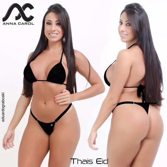 Bikinis Annacarol Biquini Fiodental Thais Eid Fdv-1 Cóslargo