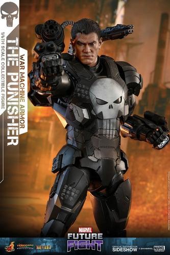The Punisher War Machine By Hot Toys 1/6 (lucasar) En Stock