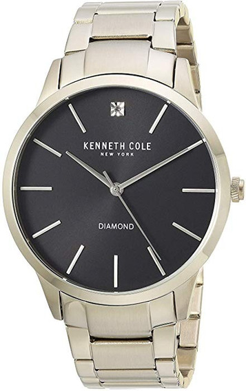 Reloj Kenneth Cole Dorado New York Slim (ultra Delgado)