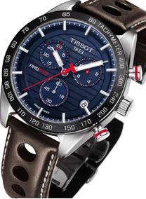 Relógio Tissot Novo Prs 516 T1004171605100 Azul Original