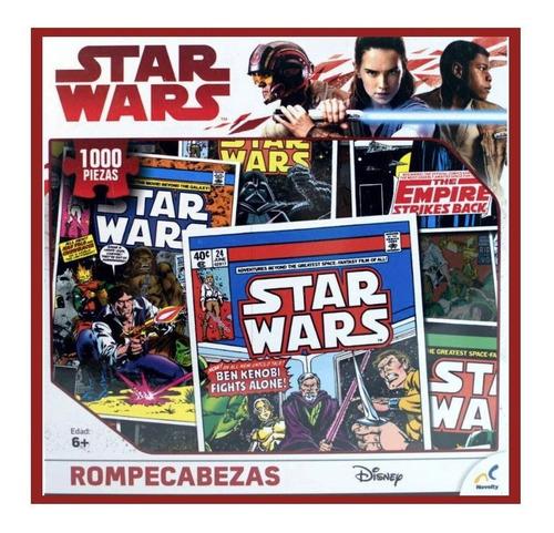 Rompecabezas Novelty Star Wars Comic 1000 Pza Cartón 46x61