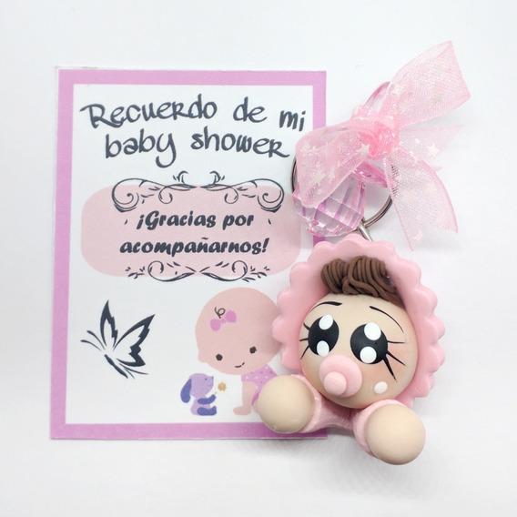 Paquete De 12 Recuerdos Baby Shower Regalos Llaveros Bebés