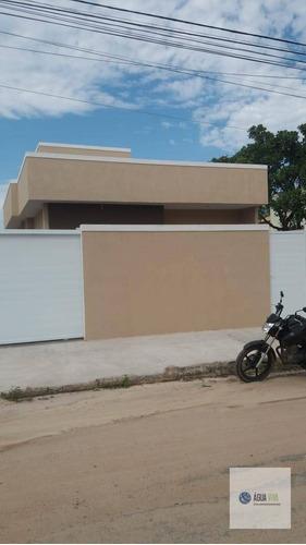 Casa 02 Quartos - A Vista 320 Mil - Rio Das Ostras / Terra Firme - Ca0148