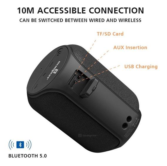 Mini Caixa De Som Com Bluetooth 5.0